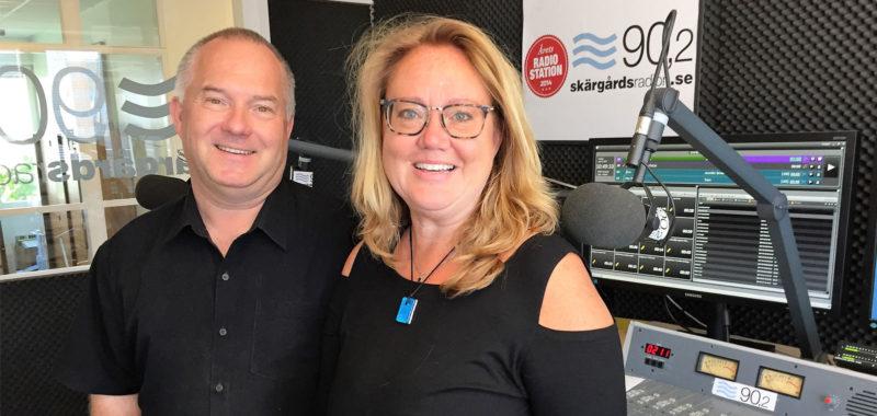 Värmdö Företagargalans producent Amanda Thunberg gästar Skärgårdsradion och Martin Loogna